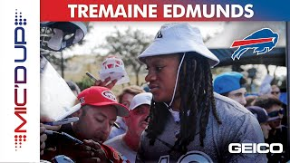 Tremaine Edmunds Mic'd Up at the Pro Bowl