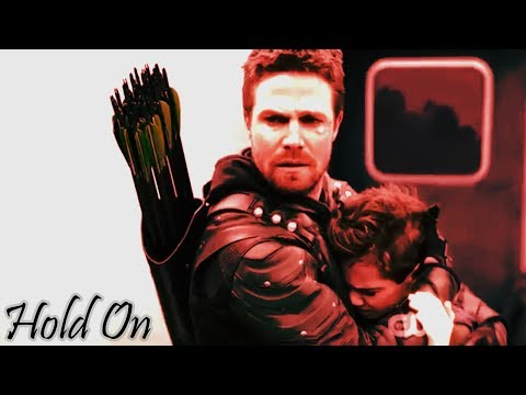 Arrow|Oliver Queen| Hold on