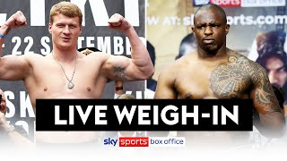 POVETKIN vs WHYTE 2 | FULL WEIGH-IN ⚖️