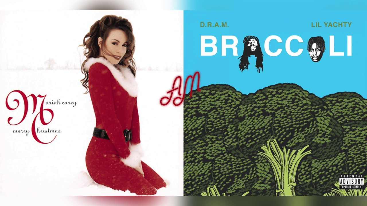 Mariah Carey Christmas Album Cover.D R A M Ft Lil Yachty X Mariah Carey All I Want For Christmas Is Broccoli Mashup