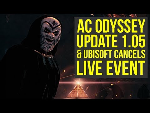 Assassins Creed Odyssey Update 105 OUT NOW &  Event Reward You Cant Get AC Odyssey Update