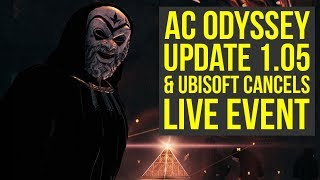 Assassin's Creed Odyssey Update 1.05 OUT NOW & Live Event Reward You Can't Get (AC Odyssey Update