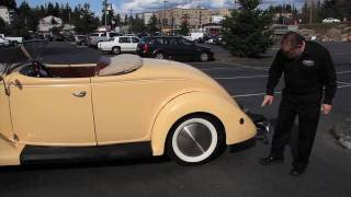1936 FORD RUMBLE SEAT ROADSTER    SOLD   Drager