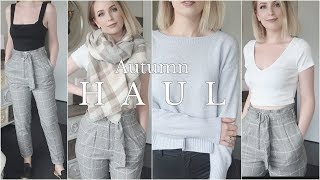 AUTUMN FASHION TRY-ON HAUL | Fluid Capsule Wardrobe Update