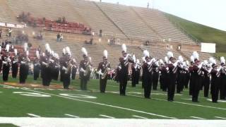 West Texas A&M University Marching Band - National Anthem / Fight Song