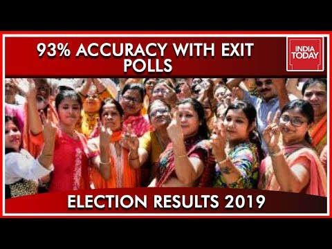 93% Seat By Seat Comparison With India Today Exit Polls  Results 2019