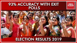 93% Seat By Seat Comparison With India Today Exit Polls | Results 2019