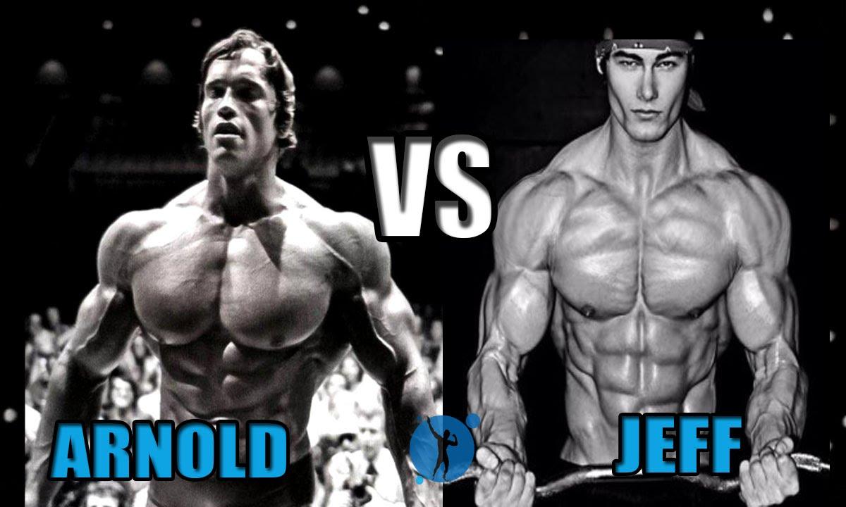 arnold schwarzenegger vs jeff seid aesthetics forever