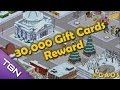 The Simpsons Tapped Out: 30,000 Gift Cards Reward