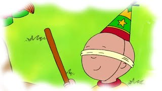 Caillou English Full Episodes | The Pinata | Cartoons for Kids