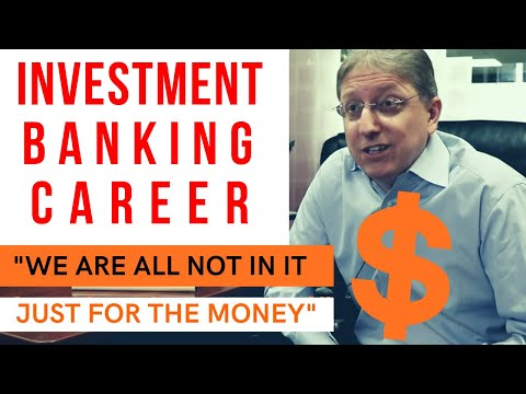 💸  TRUTH ABOUT INVESTMENT BANKING CAREER / Investment banking explained / Finance career advice