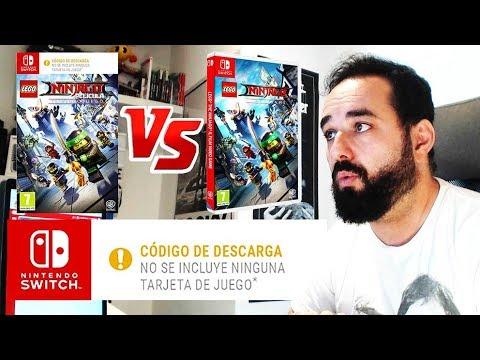 Juegos Con Cajas Vacias Solo En Espana Nintendo Switch Lego Ninja Go