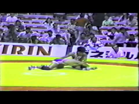 John Smith Takedown Compilation: 1990 Senior World Championships
