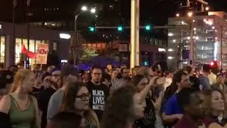 Protesters Rally near Billy Joel Concert to Protest Police Officer Acquittal
