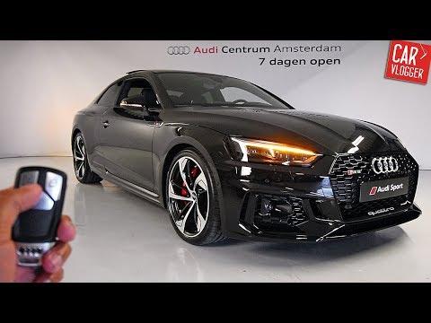 INSIDE the NEW Audi RS5 2017 | Interior Exterior DETAILS w/ REVS