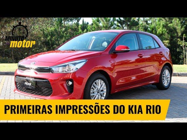 Veja as primeiras impressões do Kia Rio | Minuto Motor