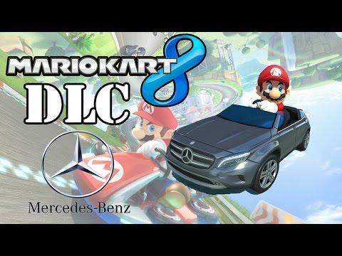 DLC Mercedes-Benz - Mario Kart 8 -  GLA