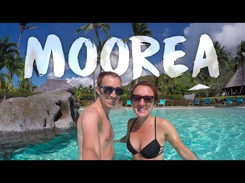 MOOREA (3 Weeks in French Polynesia - Pt. 1) (GoPro Video)