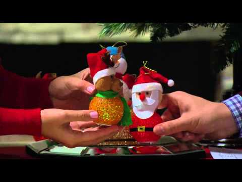Bethlehem Lights S/3 Battery Op. Christmas Buddy Ornaments with Gabrielle Kerr