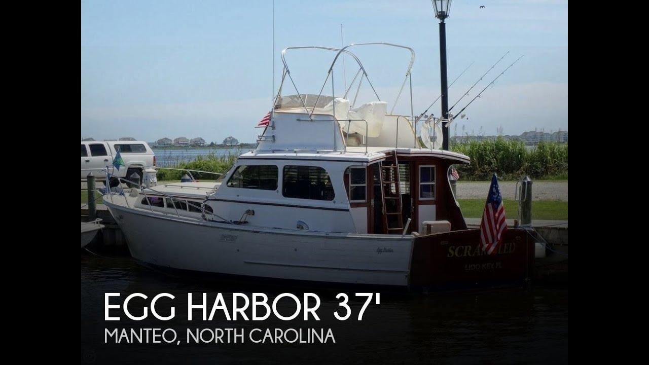 Sold Used 1967 Egg Harbor 37 Vintage Motor Yacht In Manteo North Carolina
