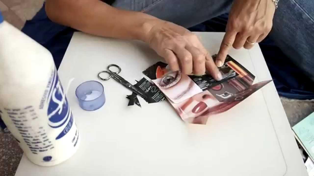 d2f3e0653 Hagalo Usted Mismo: Como hacer bolsitas de papel con hojas de revista -  YouTube