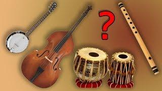 RARE !!! Combination of Instruments | Flute Tabla Banjo Bass
