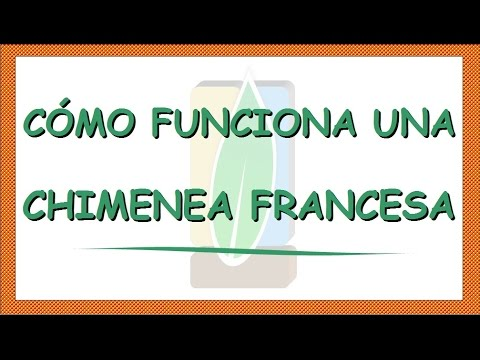 como funciona una chimenea francesa youtube