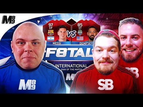 iMOTM F8TAL VS SPINBROS!! MESSI VS DEMPSEY   FIFA 16 ULTIMATE TEAM