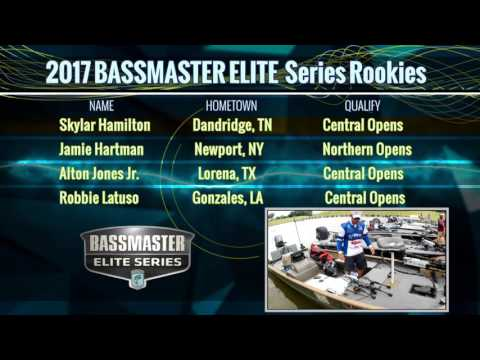 Meet the 2017 Bassmaster Elite Series rookies