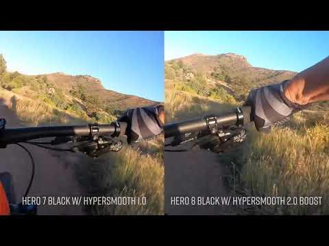 GoPro Hero 8 Black    Mountain Biking Review w  HyperSmooth 2 0