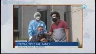 En CDMX se han hecho más de 140 mil pruebas de COVID-19: Oliva López
