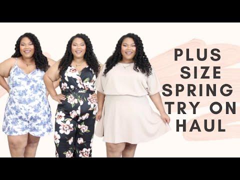 boohoo-plus-size-clothing-haul-2020- -plus-size-spring-try-on-haul
