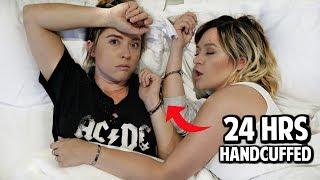 Sisters Handcuffed For 24 Hours! | Ashley Nichole