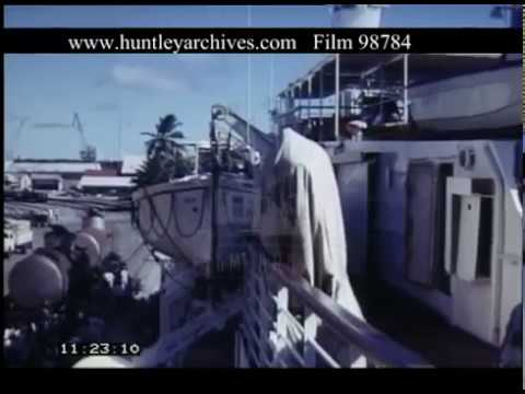 Cruising The Seychelles, 1960s - Film 98784