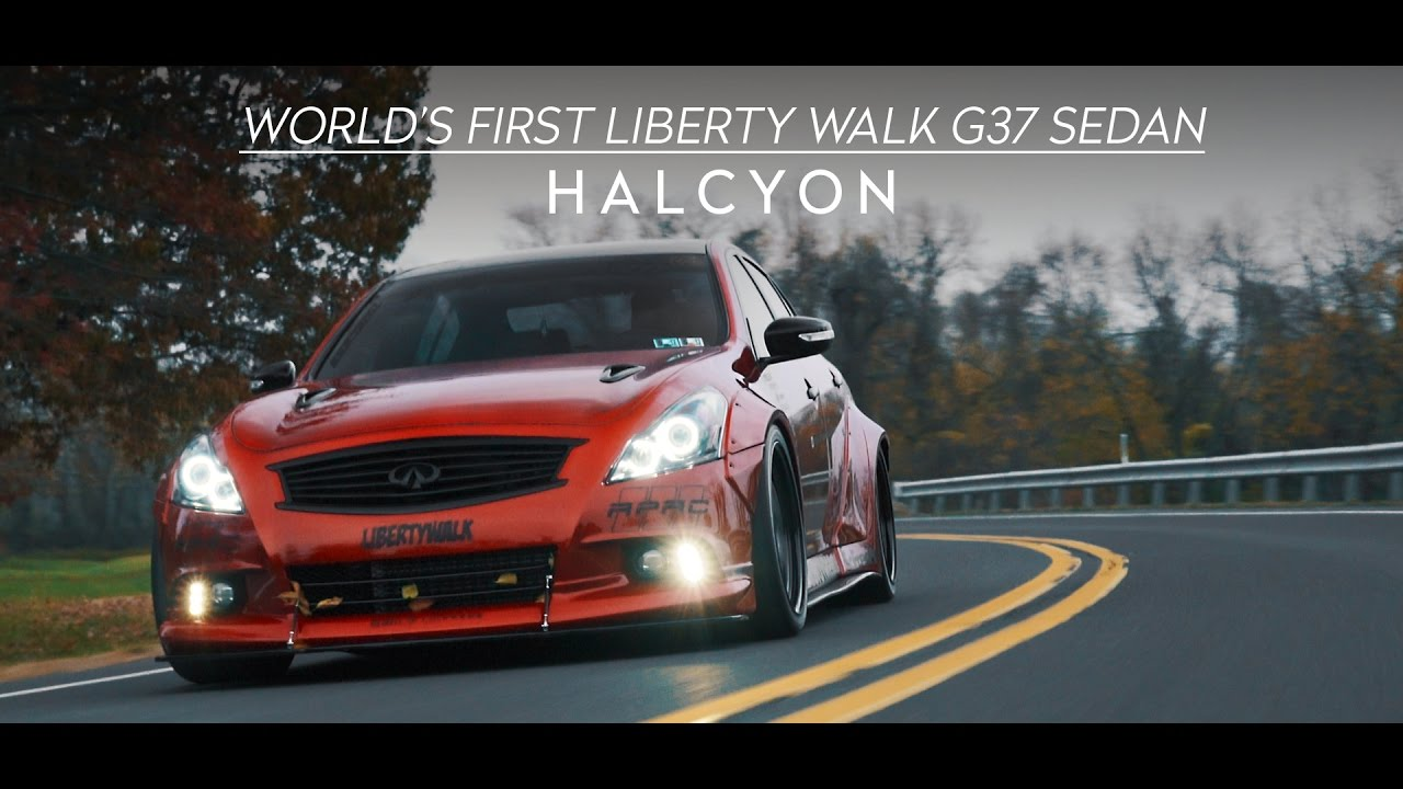 World\'s First Liberty Walk G37 Sedan   HALCYON (4K) - YouTube