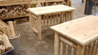 The Log Furniture Store ~ Our Log Writing Desk
