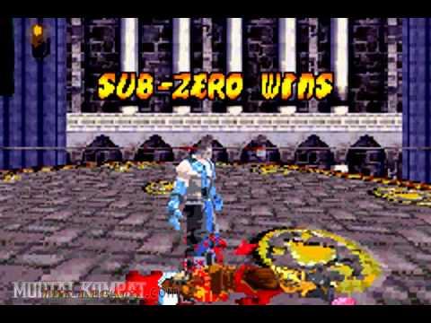 Mortal Kombat Deadly Alliance - Gameboy Advance - Sub-Zero - Fatality