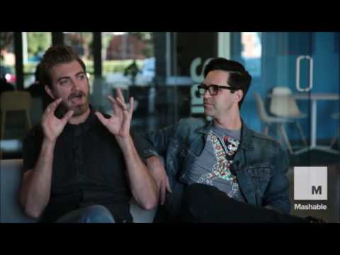 Rhett and Link Interviewed by Saba Hamedy