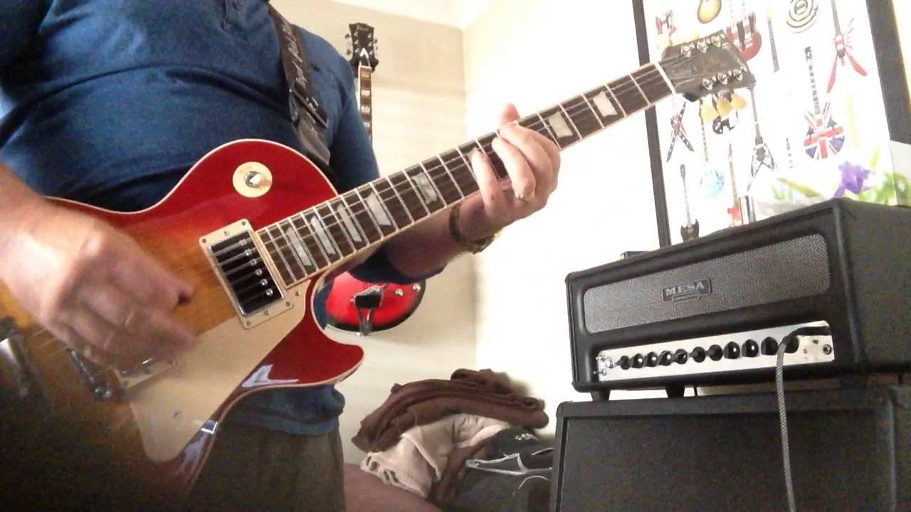 Toys In The Attic Aerosmith Guitar Cover Youtube