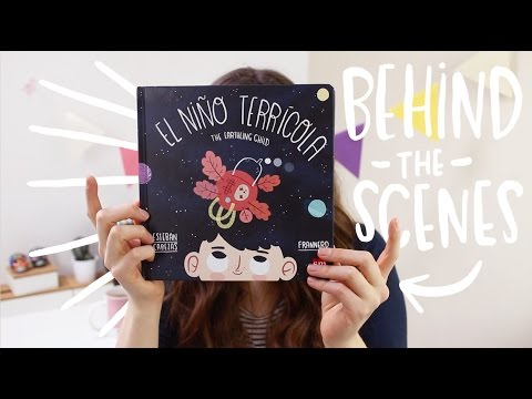 The Earthling Child children's book BEHIND THE SCENES ~ Frannerd