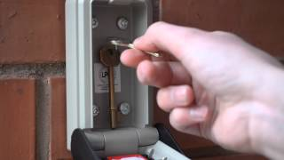How to use the Supra C500 Police approved key safe