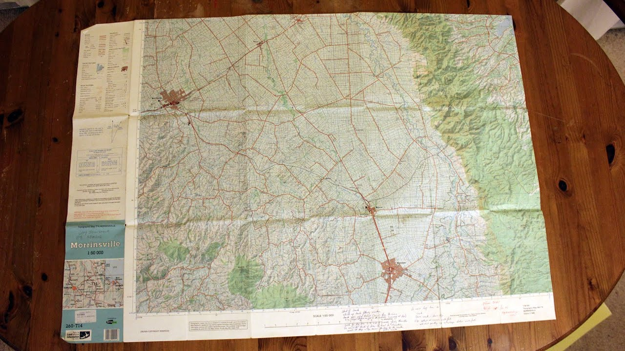 How To Read A 14 Figure Grid Reference From A Topographic