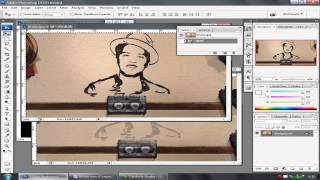 """Tutorial Photoshop Cs 3 Bahasa Indonesia Cara video clip of Bruno Mars """"Just The Way You Are"""""""