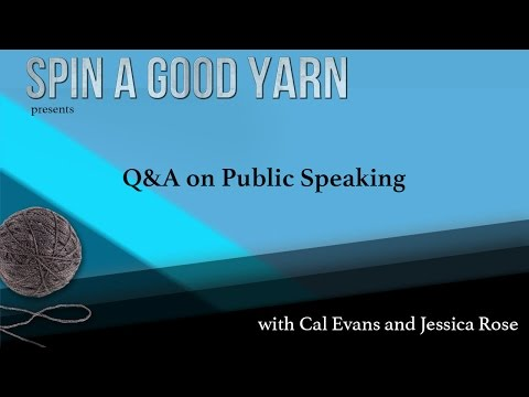 Q&A on Public Speaking with Jessica Rose and Cal Evans