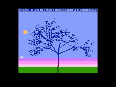 """""""Tree Simulator 4k"""" Atari XL/XE experimental program ABBUC contest 2020"""