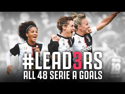 All 48 Goals from the #LEAD3RS Serie A Season | Juventus Women