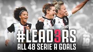 All 48 Goals from the LEAD3RS Serie A Season Juventus Women