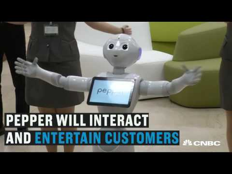 This robot just got hired at a bank | CNBC International