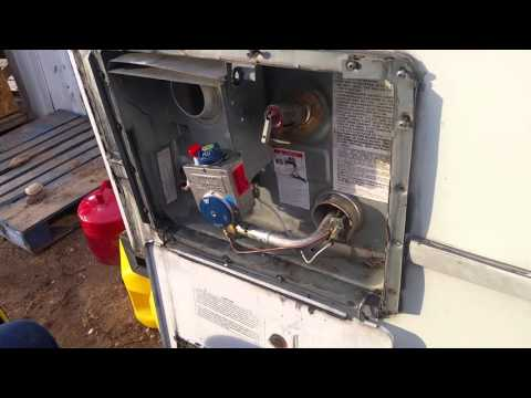 Atwood Water heater gas control valve replacecement