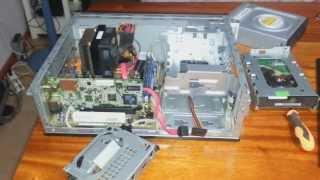 HP Pavilion Slimline s3640la Disassemble